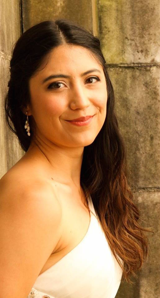 Maria Caycedo sings Garcias, one of Dulcinee's quartet of ardent pursuers