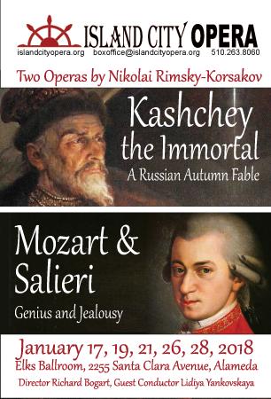 "Before ""Amadeus"", ""Mozart and Salieri"""