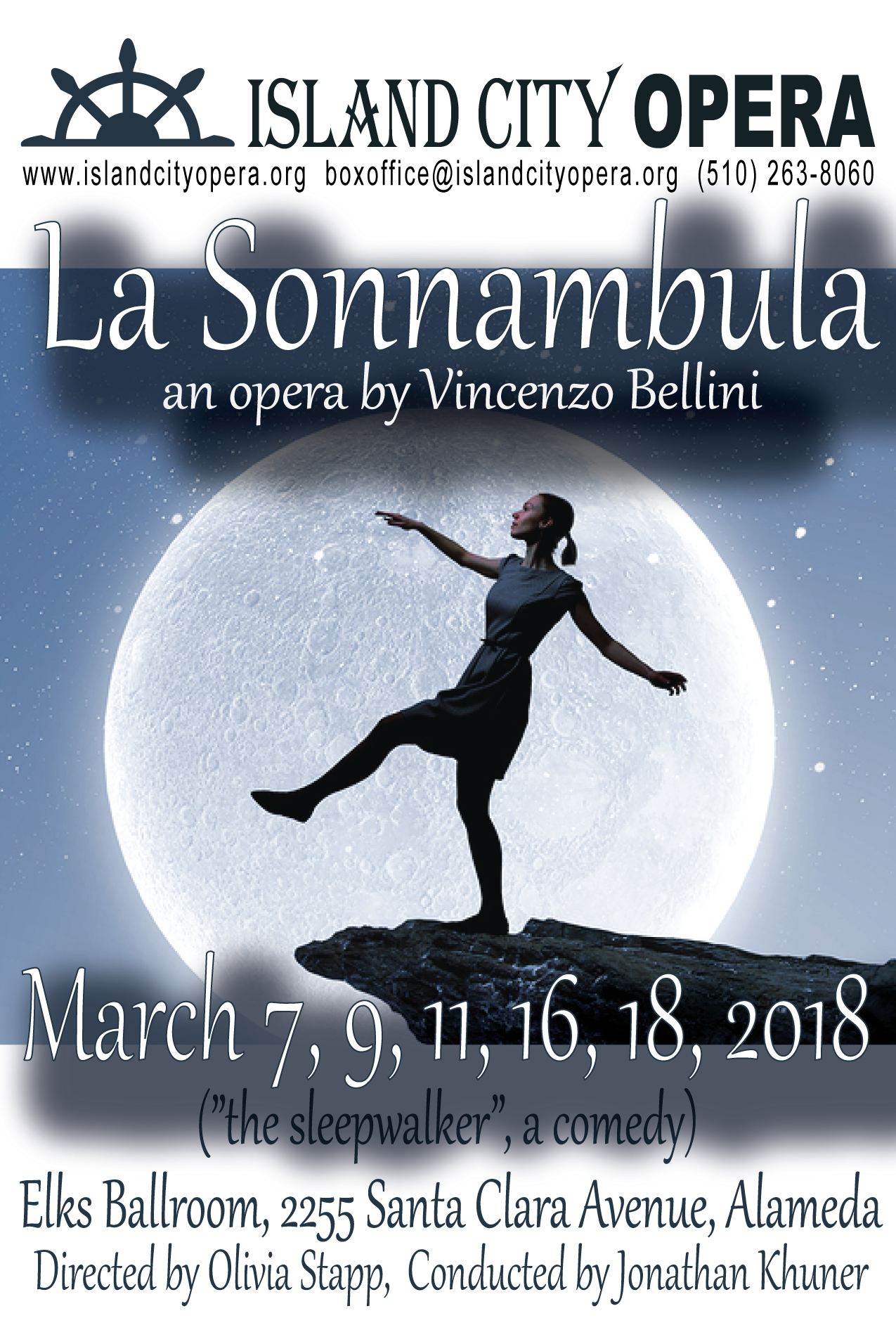 March 2018 Bellini's La Sonnambula Press Release