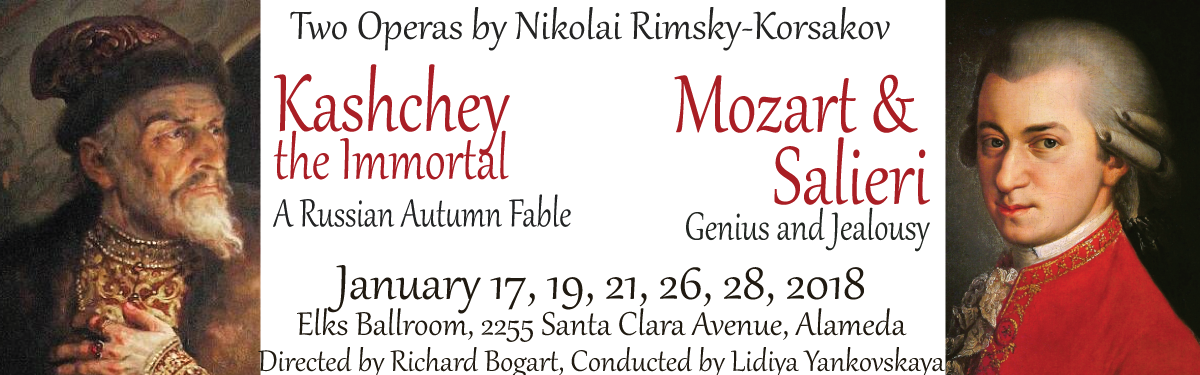 Two by Rimsky-Korsakov, January 2018