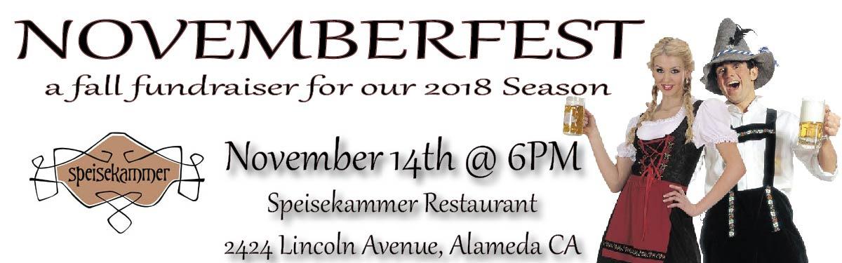 Novemberfest! November 14th 2017
