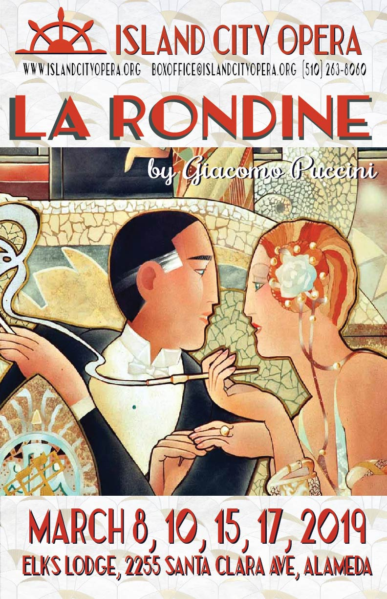 March 2019, La Rondine by Puccini Press Release