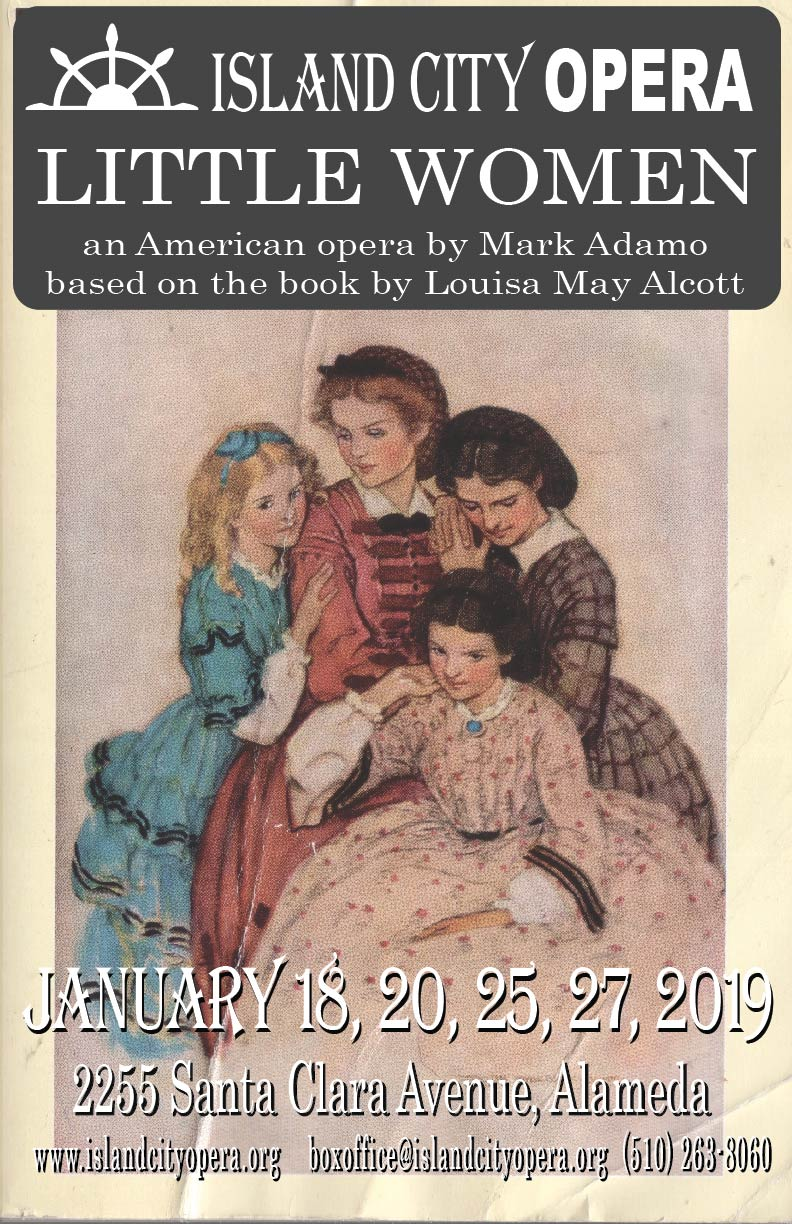 January 2019, Mark Adamo's Little Women Press Release